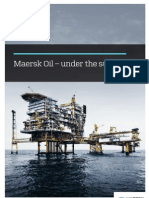 Maersk Oil – under the surface