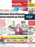 El Quilmeño de Diario Popular (29/10/2012)
