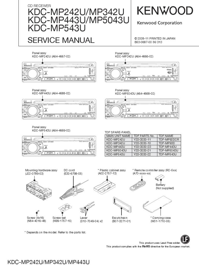 Vd on Kenwood Kdc 138 Wiring Diagram