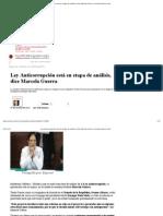 29-10-12 Ley Anticorrupción está en etapa de análisis, dice Marcela Guerra _ Sexenio Nuevo León