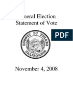 2008 Tulare County, CA Precinct-Level Election Results