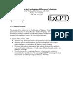 ICPT Mission Statement