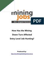 Mining Downturn