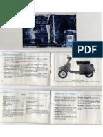 Manual de usuario Vespa 75 PK Junior