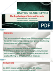 From Terabytes to Archetypes - The Psychology of Inernet Security (ESOMAR Krakow March 2012)