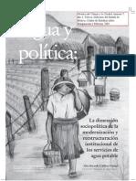 Agua y Política. La Dimensión Sociopolítica de La Modernización y Reestructuración Institucional de Los Servicios de Agua Potable