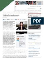 The Dalai Lama Looks Forward to Brainchip Implants for Easy Meditation 2005