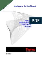 Manual Detector de Metais