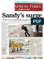 The Express-Times for October 30, 2012