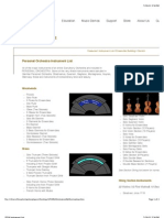 GPO4 Instrument List