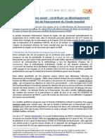 Document d'information sur les enjeux no 2