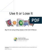 Use It or Lose It Report 10 12