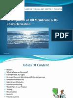 Development of RO Membrane & Its Characterization.pptx