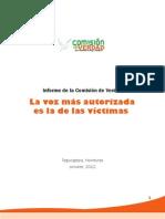Comision de Verdad Honduras
