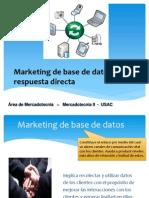 15_Marketing de Base de Datos y Marketing de Respuesta Directa