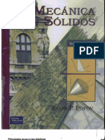 Mecanica de Solidos - Egor P. Popov