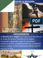 Filosofia de La Religion (Once)