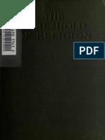 The Threshold of Religion - Marett (1914)