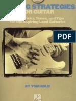 Tom Kolb Soloing Strategies