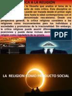 CRÍTICA A LA RELIGIÓN (Once)
