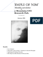 The Blue Mountains UFO Research Club Newsletter - January 2010