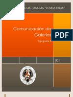 COMUNICACIÓN DE GALERIAS