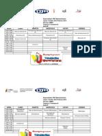 Horarios Ing Mantenimiento Trayectos 1 2 3 y 4 2012.