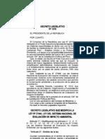 Dec. Leg. 1078, Modifican Ley Del SEIA