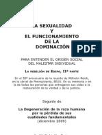 La sexualidad y el funcionamiento de la dominacion