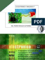 Conferencia de Electronica Analogica