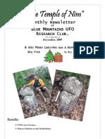The Temple of Nim Newsletter - December 2009