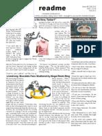 Readme - October 31, 2012