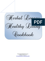 Healthy Living Cookbook - Excellent Vegan Recipes from HerbalLegacy.com