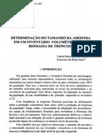 DETERMINAÇÃO DO TAMANHO DA AMOSTRA...