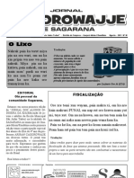 Jornal Caoorowajje de Sagarana 01 Ago 2011 Plro Gajaramirim