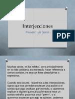 Interjecciones