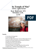 The Temple of Nim Newsletter - April 2009