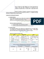 NOMENCLATURA INORGÁNICA (óxidos, anhidridos, hidróxidos, hidrácidos, ácidos oxácidos)