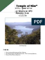 The Temple of Nim Newsletter - November 2008
