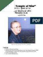 The Temple of Nim Newsletter - September 2008