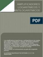Amplificadores Logaritmicos y Antilogaritmicos