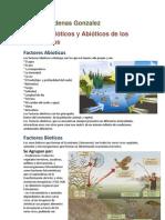 Factores Bioticos y Abioticos(Ismael Cardenas Gonzalez)