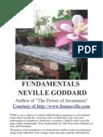 Neville Goddard PDF - Fundamentals