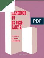 Handbook to BS5628-2