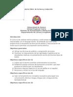 Programa de La Materia Taller de Lectura y Redacción