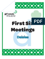 Daisy First Six Meetings Packet