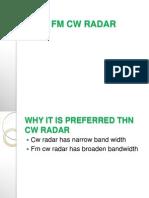 FM CW RADAR