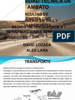 INGENIERÍA EN VIAS Y TRANSPORTES (Exposición)