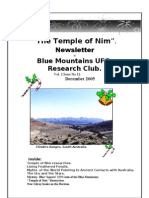 The Temple of Nim Newsletter - December 2005