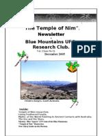 The Temple of Nim Newsletter - December 2005